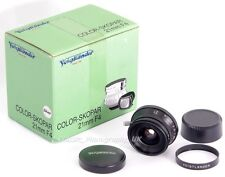 Voigtlander COLOR-SKOPAR 21mm F4 - LEICA LTM / L39 fit Scale Focus Lens (BOXED!)