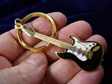 (M-221-C) One of 4 colors Fender STRATOCASTER Electric Guitar JEWELRY KEYCHAIN