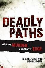 DEADLY PATHS By Peter Seymour Paperback Crime Story Book Free Fast Shipping BB