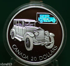 2002 CANADA $20 Gray-Dort with hologram - Car from Transportation 12-coin series