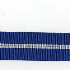 "Medal Ribbon.NATO All Balkans Operations Full Size. Sold in 6"" Lengths"