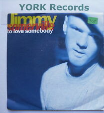 "JIMMY SOMERVILLE - To Love Somebody - Excellent Con 7"" Single London LON 281"