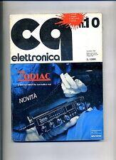 CQ ELETTRONICA  N.10 - N.154 1 Ottobre 1976 - Rivista Mensile