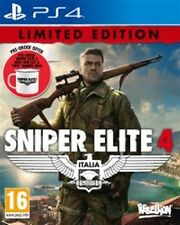 Sniper Elite 4 PS4 Limited Edition Pre-Order Release Date 14th February 2017
