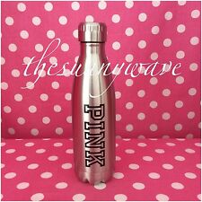 Victoria's Secret PINK Stainless Steel Logo Water Drink Tumbler Bottle