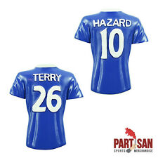 2 X CHELSEA SHIRT FRIDGE MAGNETS TERRY, HAZARD  2016-17 SEASON