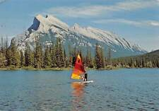 Canada Alberta Banff National Park The Wind Surfer on Vermilion Lakes