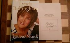 Lost and Found My Story SIGNED Lynda Bellingham HB 2010 Autobiography 1st/1st