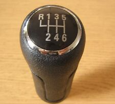 Gear Shift Knob 6 Speed Leather Imitation Audi A6 C6 A3 8P 8L A4 B5 B6 B7 TT Q7