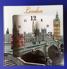 London Table Clock Alarm Clock British England Uk Souvenir Gift