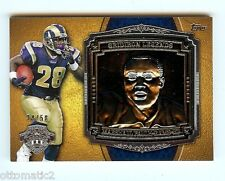 2013 TOPPS MARSHALL FAULK GRIDIRON LEGENDS BUST SILVER PLAQUE #34/50