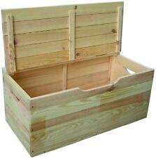 Baule / Cassapanca in legno Blinky Mod. Ibisco con coperchio cm. 75 x 35 x 33Hs