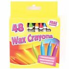 48 Wax Crayons Set with Sharpener/12 Jumbo Crayon-For Kids, Gift, Art & Craft