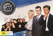 Spin City the Complete Series Collection Limited Edition NEW R4 DVD