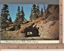Vintage UNUSED POST CARD MOUNTAIN TUNNEL OURAY - SILVERTON CO