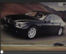 """BMW 7 Series"""" A New Perspective In Driving"""". Factory Orig Printings Car Poster!"""