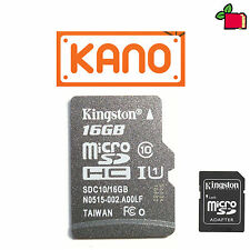 16GB CLASS10 SD Card Preloaded with KANO Preinstalled for Raspberry Pi