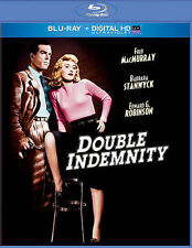 Double Indemnity NEW Bluray disc/case/cover ONLY-no digital/slip classic