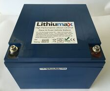 Lithiumax Blue Series 850CCA Car or Boat Battery, LiFePo4, Lithium, with BMS