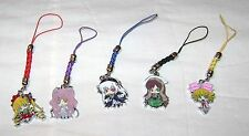 ROZEN MAIDEN ANIME CELL PHONE STRAP SET OF 5 DOLLS NEW DESU