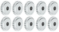 10 Lego Technic CLUTCH Gears   (spur,24,tooth,white,ev3,robot,loader,motor,slip)