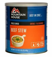 1 Can - Beef Stew - Mountain House Freeze Dried Emergency Food Supply