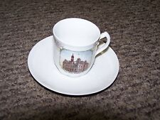 Vintage Post Office Building Scranton PA Cup and Saucer Set