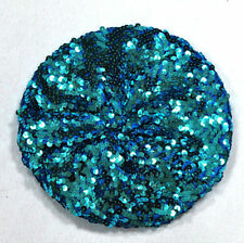 New Fashion Stretch Crochet Shining Sequin Beret Hat Party Beanie Chic Cap