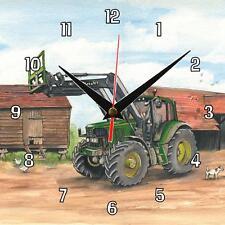 N ° 114 John Deere 6920s Tractor Sue podbery Reloj De Pared Hecho A Mano Regalo Presente
