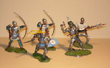 54mm Britains Swoppet Medieval Castle Knights
