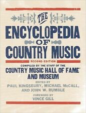 THE ENCYCLOPEDIA OF COUNTRY MUSIC (HARDCOVER) NEW