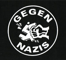 Gegen Nazis Patch / Aufnäher NEU 1,20€ Punk Oi! FCK NZS Nazis Raus Skinhead Oi