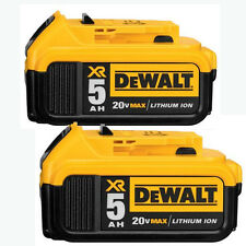 DeWALT DCB205 18V XR 5.0Ah LI-ION BATTERY WITH FUEL GAUGE 18 VOLT - 20V MAX New