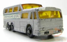 MATCHBOX Series No. 66 Bus Greyhound Coach (GMC) Regular Wheels Scale ca. 1:75