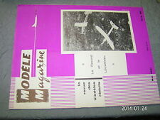 Modele Magazine n°130 plan encarte Clown de Rosello / Planeur Nordique evolution