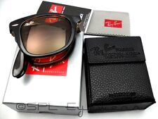 Ray Ban Original Wayfarer Folding Classic RB 4105 710 Tortoise Brown B-15 54 mm