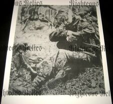 WWII German MG 42 Elite Gunner Fine Art Poster Print Drawing WW2 At Rest 1944-45