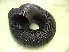 """Buick 4"""" Black Flexible Heater A/C Duct Hose SOLD x FOOT Ram Air Defroster Nos"""