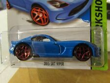 Hot Wheels 2013 SRT Viper HW Workshop Blue