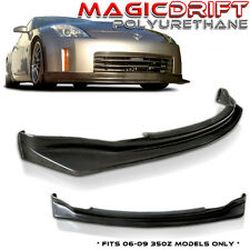 FIT FOR 06 07 08 09 NISSAN 350Z N-S POLY URETHANE FRONT BUMPER LIP 2006-2009