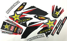 NEW Rockstar Honda Graphics Kit CRF70 2004-12 CRF80 & CRF100 2004-2012