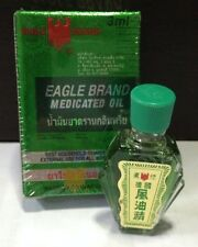 EAGLE BRAND MEDICATED OIL FOR RELIEF OF DIZZINESS, ACHES & PAINS OF MUSCLES 3 ML