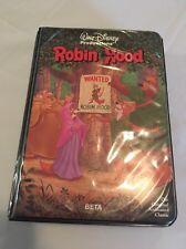 Robin Hood Walt Disney's Classic Black Diamond Rare BETA Tape 1973