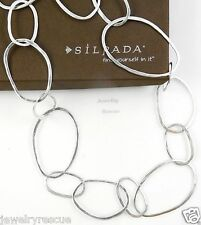 """Silpada """"Bubble Up"""" Necklace .925 Sterling Silver 38"""" Length N2148 NEW --'g'7'0k"""