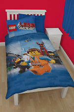 LEGO Movie Awesome Kinder Bettwäsche Bettgarnitur Kids Panel Set 135x200 neu