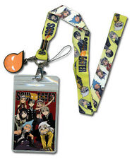 Soul Eater Lanyard Necklace Keychain Charm Neck Cellphone Strap ID Holder Badge