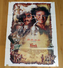 HOOK CAPITAN UNCINO poster manifesto Robin Williams Dustin Hoffman Julia Roberts