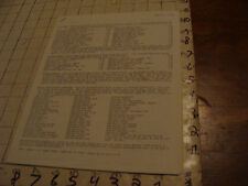 vintage Original Zine/papers: IVOR A ROGERS 1970, 16 pages of things for sale
