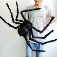 Halloween Decoration Spider Haunted House Prop Indoor Outdoor Plush Puppet Toy