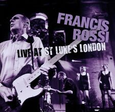 "FRANCIS ROSSI ""LIVE AT ST. LUKE'S, LONDON"" CD NEU"